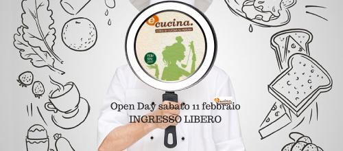 sabato 11 febbraio :Open day dei corsi di cucina