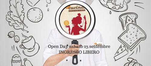 Open Day corsi di cucina!10 anni!