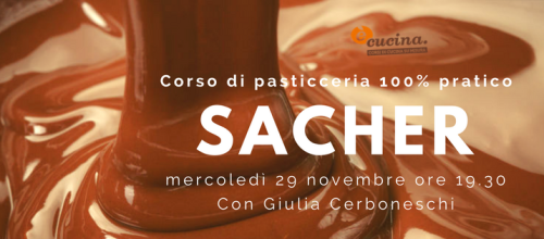 Come si fa la Torta Sacher?: step by step con Giulia cerboneschi