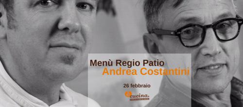Il menù dello Chef Andrea Costantini a éCucina!