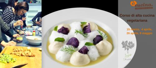 Alta cucina vegetariana con gli chef del Joia con Diploma!