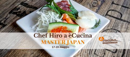 Pazzo per il sushi? Diventa un esperto con Hiro, lo chef giapponese del momento