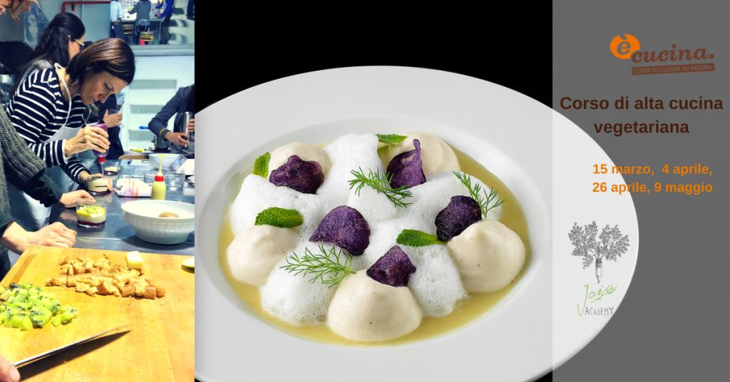 Alta Cucina Vegetariana Con Gli Chef Del Joia Con Diploma E Cucina