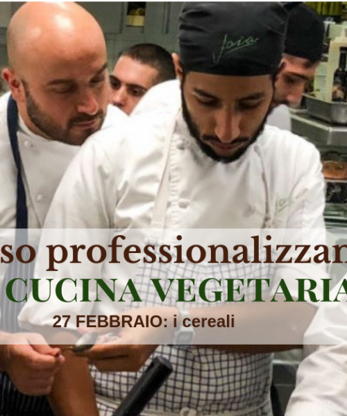 corso di cucina vegetariana