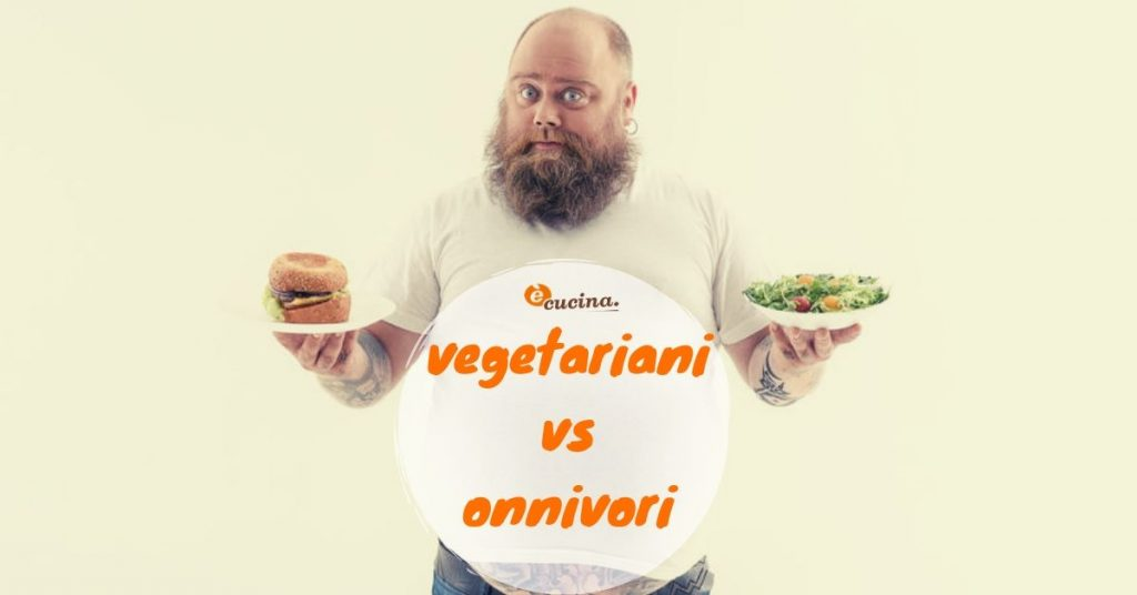 vegetariani vs onnivori